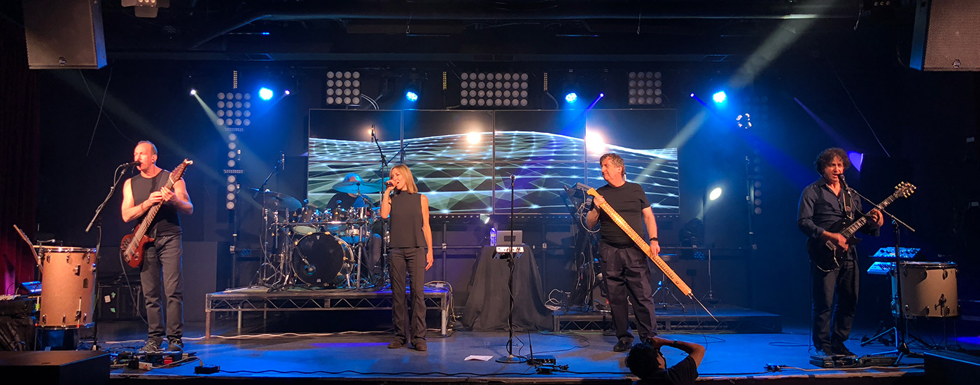 The Security Project performing live