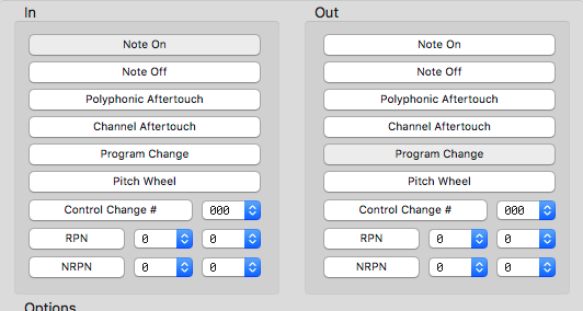 SubtleSoft MidiPipe, MIDI Note Events vs Program Change MIDI, Gig Performer, Note On, Program Change