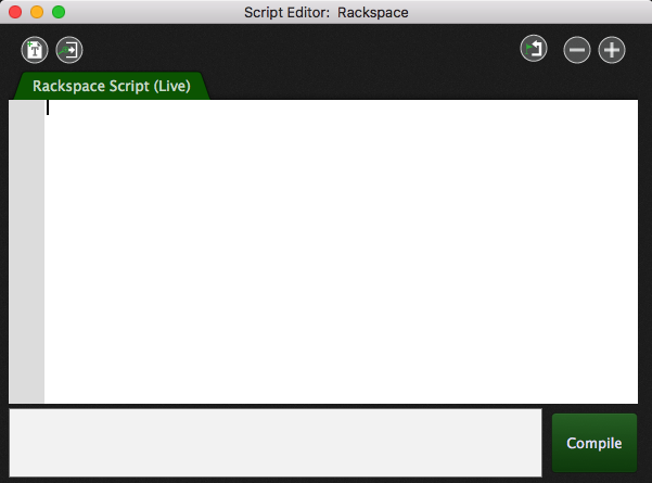 Window --> Show Script Editor opens the Script Editor window in Gig Performer, GPScript