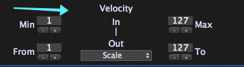 Velocity layering and scaling, MIDI in plugin, Gig Performer