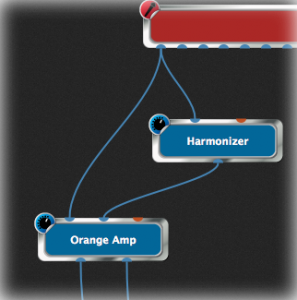 Channel strip way vs visual way, Gig Performer, Harmonizer, Orange Amp