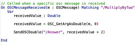 GPScript responding to OSC messages
