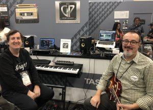 Gig Performer founders David Jameson and Nebojsa Djogo