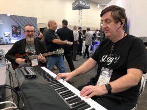 Gig Performer creators: Nebojsa Djogo and David Jameson