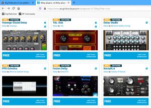 Pluginboutique, free VST, VST3, AU plugins, Gig Performer