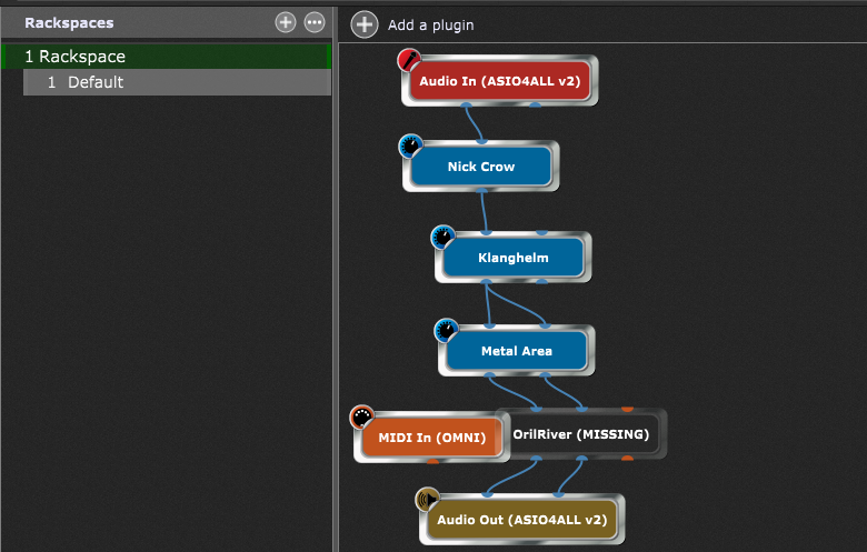 Gig Performer Chameleon Plugin