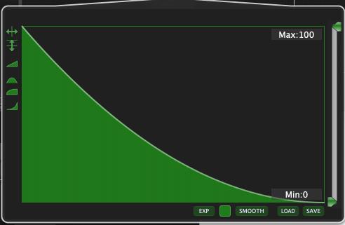 X2 reverse curve, widget scaling, Gig Performer 4