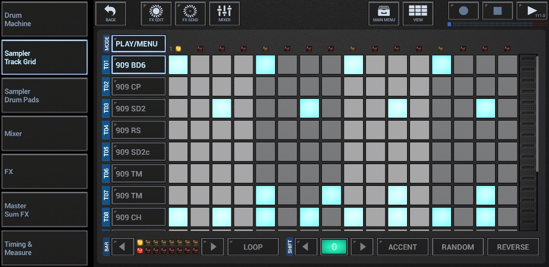 G-Stomper Rhythm is an Ableton Link-enabled app, and it works perfectly with Gig Performer